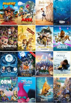 CINC, Cinema Infantil en Català. Projeccions a les comarques gironines