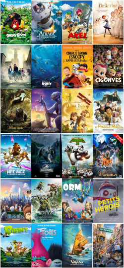 CINC, Cinema Infantil en Català. Projeccions a les comarques barcelonines
