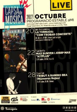 Programa d'activitats de juny a la Capsa de Música (CAMT)