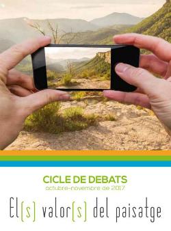 Debat 'Com es transformen els paisatges? Dinàmiques territorials i socioeconòmiques'