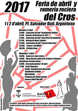 Feria de Abril i Romeria Rociera del Cros a Argentona