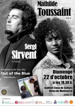 Actuació de Mathilde Toussaint i Sergi Sirvent