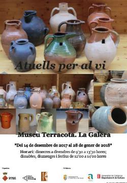 Exposició 'Atuells per al vi'