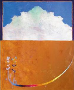 Exposició 'Ofrenes', d'Albert Gonzalo. Pintura