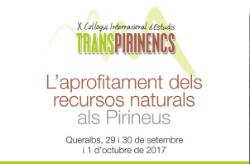 X Col·loqui Internacional d'Estudis Transpirinencs