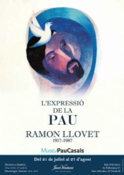 Exposició 'L'Expressió de la Pau en l'Obra de Ramon Llovet (1917-1987)'