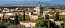 El poble de Fortià a la plana empordanesa. Font: web de l'Ajuntament