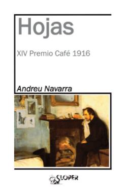 """Presentació del llibre """"Hojas"""", d'Andreu Navarra.  Imatge extreta del blog http://betancurlora.blogspot.com"""