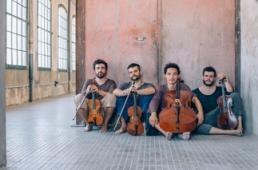Concert d'Aupa Quartet. Font: web de Joventuts Musicals de Catalunya