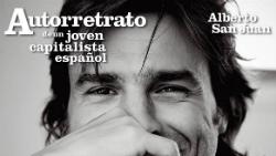 Representació d'Autorretrato de un joven capitalista español, d'Alberto Sanjuan