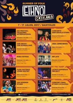 II Festival Ethno Catalonia. Font: web de les Joventuts Musicals de Banyoles