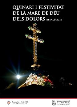 Processó de la Mare de Déu dels Dolors 2018 a Besalú. Font: la mateixa congregació