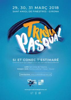 Pasqua Jove 2018 del Bisbat de Girona. Font: Joves del Bisbat de Girona