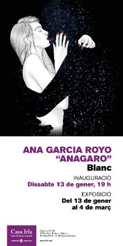 "Exposició ""Blanc"", d'Ana García Royo ""Anagaro"". Font: Fundació Irla"