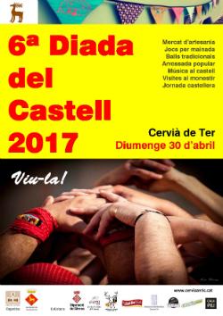 Diada del Castell 2017. Font: Amics de Cervià Antic