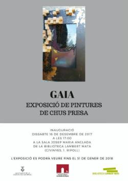 Exposició 'Gaia', de Chus Presa. Pintura