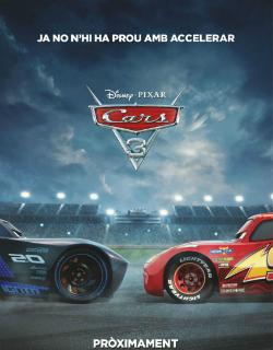 Projeccions de la pel·lícula Cars 3