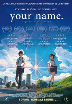 Projecció de la pel·lícula Your name