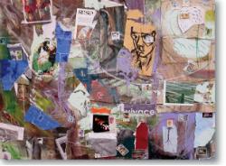 Exposició 'El gest a dos ulls', de Climent Romeu Sala-Klem. Pintura