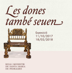 Exposició 'Les dones també seuen. Mobles i espais femenins dels segles XVI i XVII'