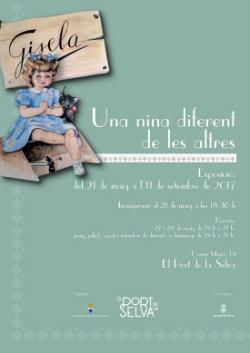 Exposició 'Gisela, una nina diferent de les altres'