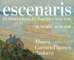 Exposició 'Escenaris. De Monet a Estes. De Trouville a Nova York'