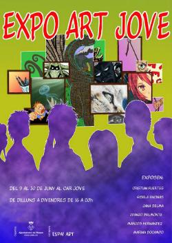 Expo Art Jove. Font: guiaderoses.net
