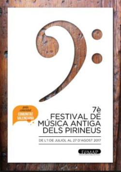 FeMAP 2017, 7è Festival de Música Antiga dels Pirineus