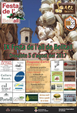 IX Festa de l'All de Belltall