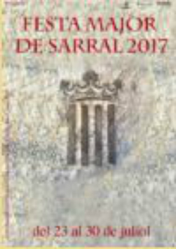 Festa Major 2017 a Sarral