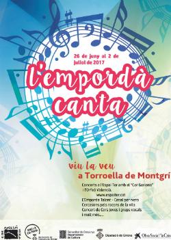 """II Festival """"L'Empordà canta"""". Font: web de l'Ajuntament de Torroella de Montgrí-l'Estartit"""
