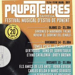 Festival de música Paupaterres Tàrrega