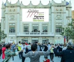 Acte de proclamació de Figueres com a Capital de la Sardana 2017