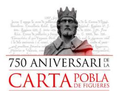 Acte commemoratiu del 750è aniversari de la Carta Pobla de Figueres. Font: empordadigital.cat