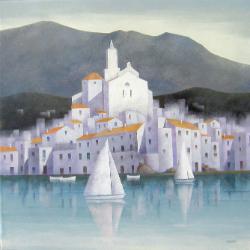 Exposició d'Eduard Malvehy. Pintura