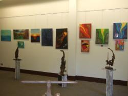 Exposició col·lectiva de pintura, escultura i fotografia