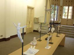 Exposició d'escultures de Manel Galià Curto. Font: Consell Comarcal de l'Alt Empordà