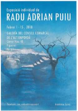 Exposició de Radu Adrian Puiu. Pintura