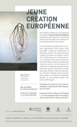 "Exposició ""Jeune Creation Européenne"". Font: Facebook"