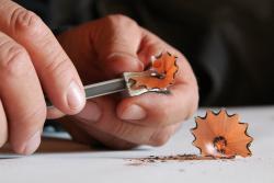 Exposició 'Fes punta al llapis', de Carles Bros