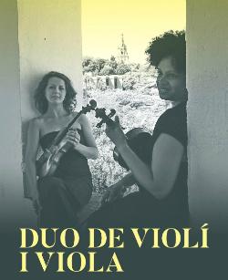 Concert de Natalia Klymyshyn (violí) i Mónica Cruzata (viola)