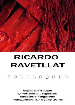 """Exposició """"Soliloquio"""", de Ricardo Ravetllat.Font: Espai Aljub"""