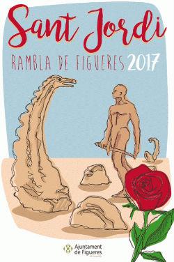 Celebració de la diada de Sant Jordi 2017 a Figueres