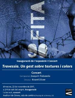 Exposició 'Travessia. Un gest sobre textures i colors'