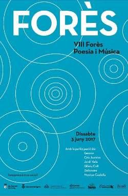 VIII Forès poesia i música