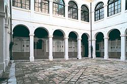 Pati del Museu d'Història de la ciutat de Girona (Institut Vell). Font: web del mateix museu