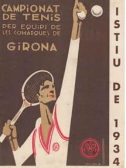 """Exposició """"100 anys de tennis a la província de Girona"""". Font: web de la Casa de Cultura de la Diputació de Girona"""