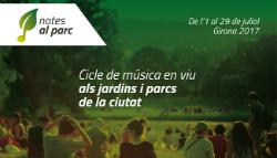 """Cicle """"Notes al Parc"""". Font: web de l'Ajuntament de Girona"""