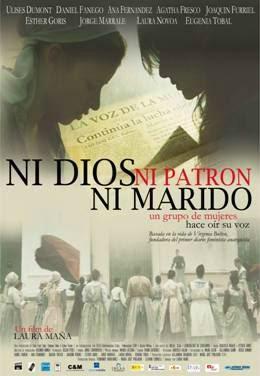 """Projecció de la pel·lícula """"Ni dios, ni patrón, ni marido"""", de Laura Maña (2010). Font: filmaffinity.com"""