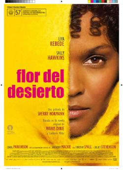 """Projecció de la pel·lícula """"Flor del desierto"""", de Sherry Hormann (2009). Font: trendencias.com"""